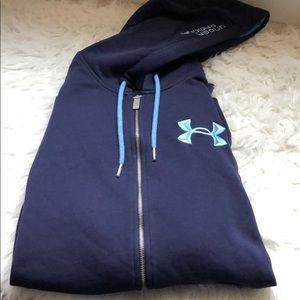 under armour zip up jacket NWOT STORM design